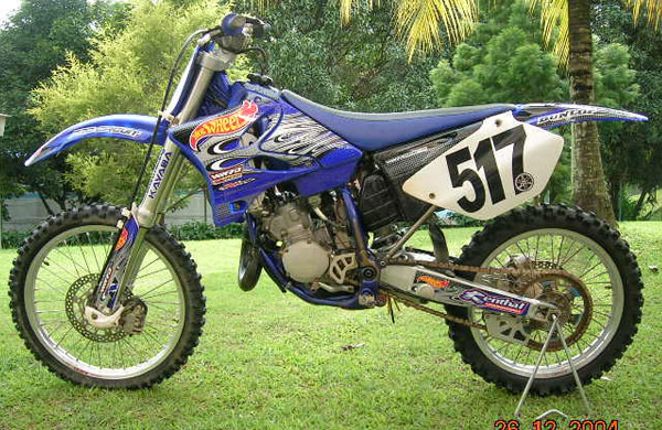 The-Yamaha-YZ125