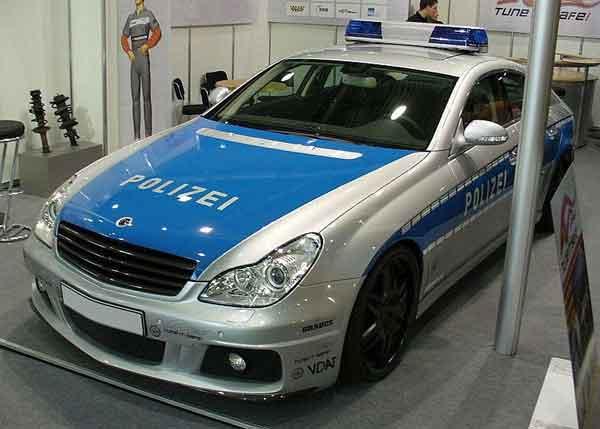 Brabus-Rocket-Polizei